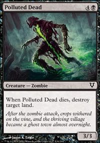 Polluted Dead - Avacyn Restored