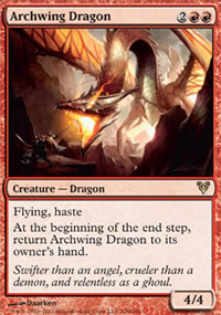 Archwing Dragon - Avacyn Restored