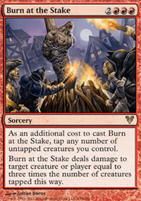 Burn at the Stake - Avacyn Restored