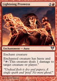 Lightning Prowess - Avacyn Restored