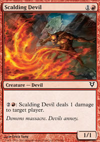 Scalding Devil - Avacyn Restored