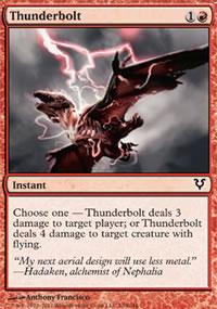 Thunderbolt - Avacyn Restored