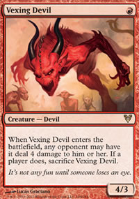 Vexing Devil - Avacyn Restored