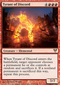 Tyrant of Discord - Avacyn Restored