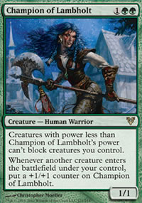 Champion of Lambholt - Avacyn Restored