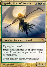 Sigarda, Host of Herons - Avacyn Restored