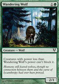 Wandering Wolf - Avacyn Restored