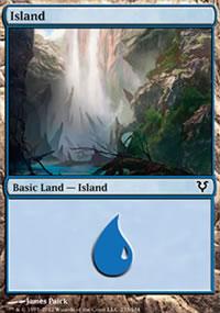 Island 1 - Avacyn Restored