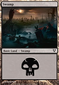 Swamp 3 - Avacyn Restored