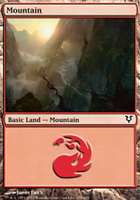 Mountain 1 - Avacyn Restored