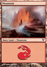 Mountain 2 - Avacyn Restored