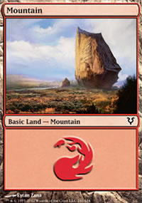 Mountain 3 - Avacyn Restored