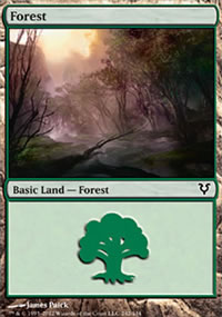 Forest 1 - Avacyn Restored