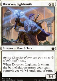 Dwarven Lightsmith - Battlebond