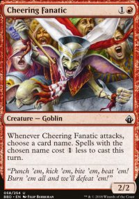Cheering Fanatic - Battlebond