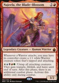 Najeela, the Blade-Blossom - Battlebond