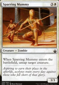 Sparring Mummy -