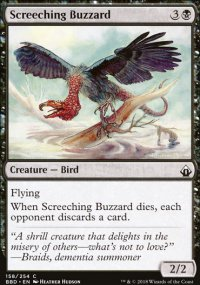 Screeching Buzzard -