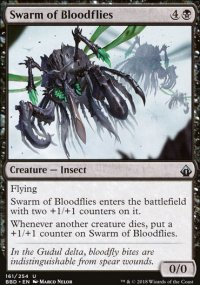 Swarm of Bloodflies -