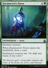 Karametra's Favor -