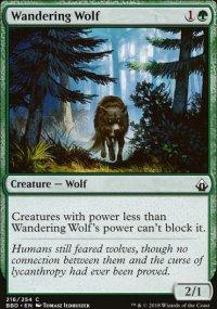 Wandering Wolf -