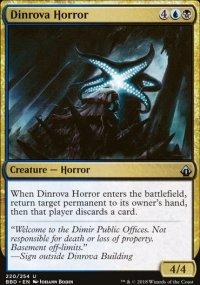 Dinrova Horror - Battlebond