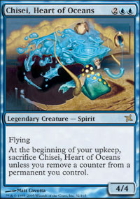 Chisei, Heart of Oceans - Betrayers of Kamigawa
