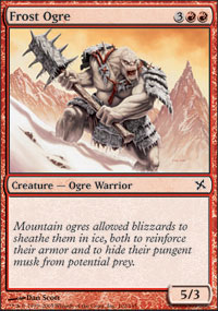 Frost Ogre - Betrayers of Kamigawa