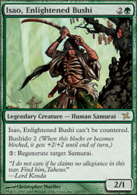 Isao, Enlightened Bushi - Betrayers of Kamigawa