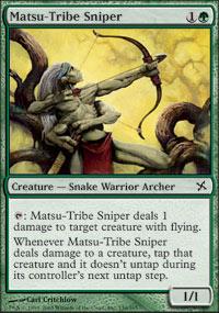 Matsu-Tribe Sniper - Betrayers of Kamigawa