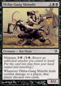 Okiba-Gang Shinobi - Betrayers of Kamigawa