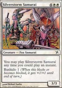 Silverstorm Samurai - Betrayers of Kamigawa
