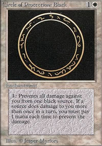 Circle of Protection: Black - Limited (Beta)
