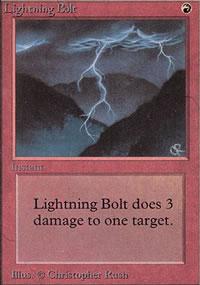 Lightning Bolt - Limited (Beta)