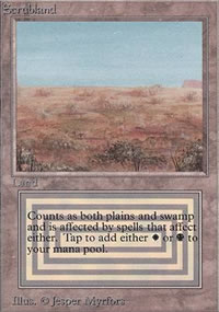 Scrubland - Limited (Beta)