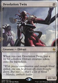 Desolation Twin - Battle for Zendikar