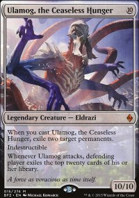 Ulamog, the Ceaseless Hunger - Battle for Zendikar
