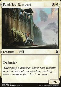 Fortified Rampart - Battle for Zendikar