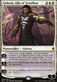 Gideon, Ally of Zendikar - Battle for Zendikar