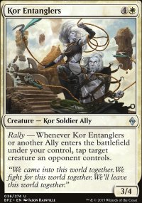 Kor Entanglers - Battle for Zendikar