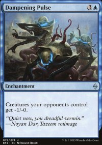 Dampening Pulse - Battle for Zendikar