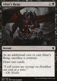 Altar's Reap - Battle for Zendikar