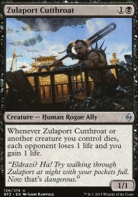 Zulaport Cutthroat - Battle for Zendikar