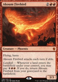Akoum Firebird - Battle for Zendikar