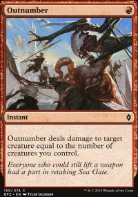 Outnumber - Battle for Zendikar