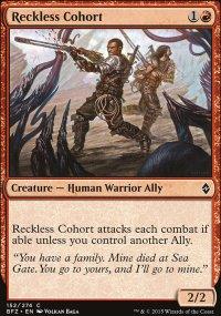 Reckless Cohort - Battle for Zendikar
