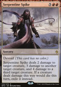 Serpentine Spike - Battle for Zendikar