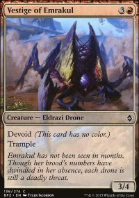 Vestige of Emrakul - Battle for Zendikar