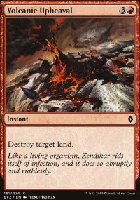 Volcanic Upheaval - Battle for Zendikar