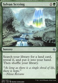 Sylvan Scrying - Battle for Zendikar
